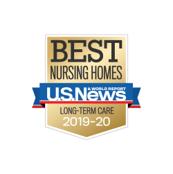 US News Best Nursing Home Badge
