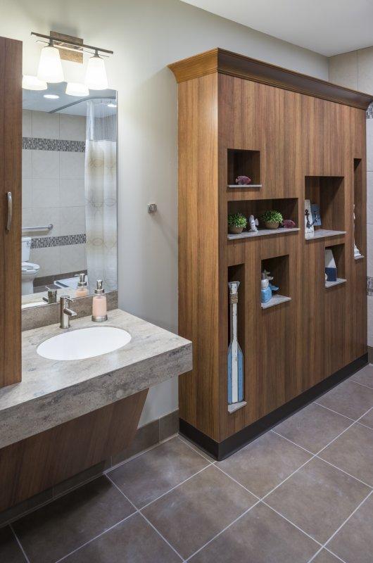 Memory Care Bathroom Resident Room